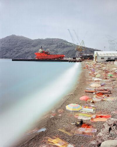 Axel Schmidt, 'Spiaggia Renà. Ligurien', 2008