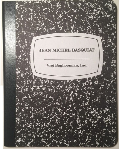 "Jean-Michel Basquiat, '""Jean-Michel Basquiat, Edition Baghoomian, Inc."", 1989, Edition of 1000, Notebook ', 1989"