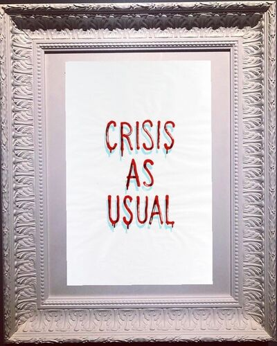 Banksy, 'Crisis As Usual', 2019