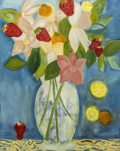 Paola Vega, 'Flores con frutillas', 2020