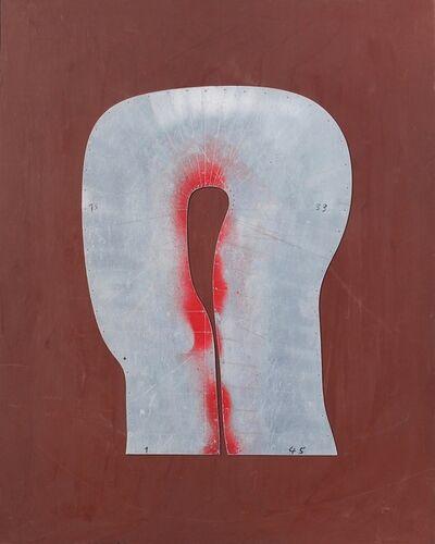 Joannis Avramidis, 'Konstruktion zu Kopf 1980 II', 1980