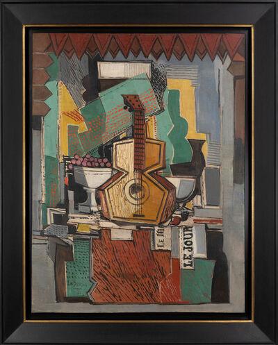 Ismael González de la Serna, 'Still Life with Guitar', 1930