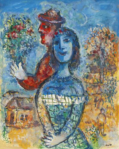 Marc Chagall, 'Premier bouquet des amoureux ', 1972