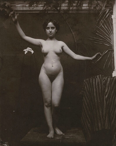 Anonymous Nudes, 'Standing Female Nude with Arms Outstretched', 1912c/1912c