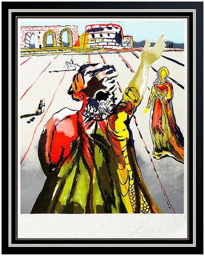 Salvador Dalí, 'Salvador Dali Color Lithograph Hand Signed Original Surreal Authentic Framed Art', 1979