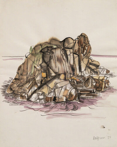 Lawrence Halprin, 'Sea Ranch Rock Study', 1977