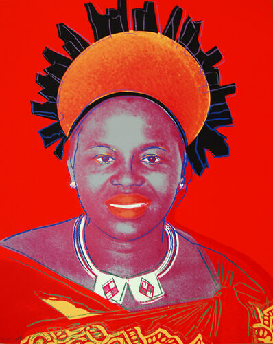 Andy Warhol, 'Reigning Queens (Royal Edition): Queen Ntombi Twala of Swaziland II.349', 1985