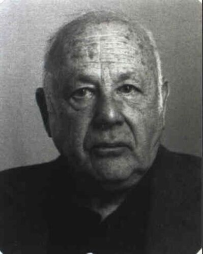 Lotte Jacobi, 'Paul Strand', 1963