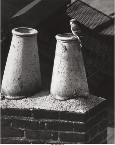 André Kertész, '20th Street West, New York, 1943 and Washington Square, New York, 1961 (two works)'