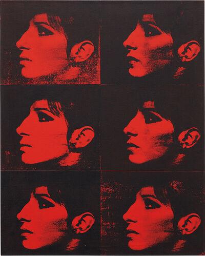Deborah Kass, 'Six Red Barbras from the series Jewish Jackie', 1992