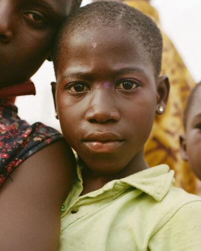 Daragh Soden, 'Girl With Purple Face-Paint, Elmina, Ghana', 2018