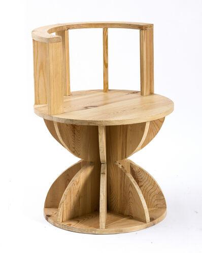 "Mario Ceroli, 'Chair ""Annabella""', 2015"