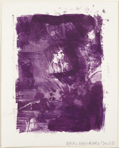 Robert Rauschenberg, 'Flower Re-Run', 1968