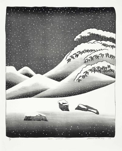 David Hockney, 'Snow Without Color ', 1973