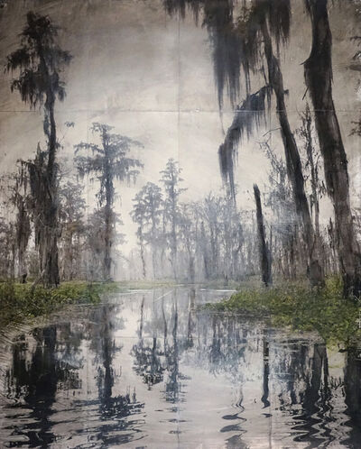 John Folsom, 'Alluvial Whitewash V', 2018