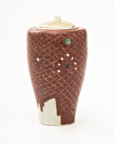 Taxile Doat, 'Vase Couvert', ca. 1926