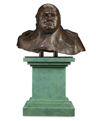 Ivor Roberts-Jones, 'Sir Winston Churchill', Conceived in 1971