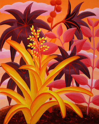 Amy Lincoln, 'Red Castor Bean Study', 2016