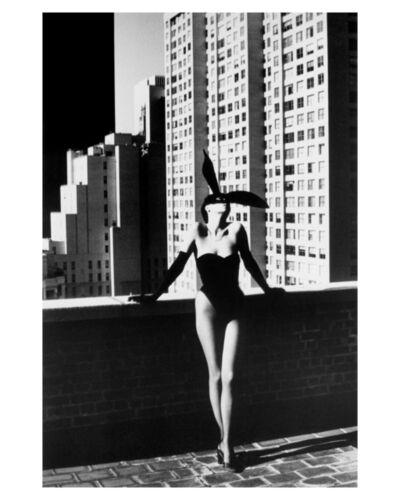 Helmut Newton, 'Elsa Peretti in Halston Bunny Costume, New York (1975)', 1975