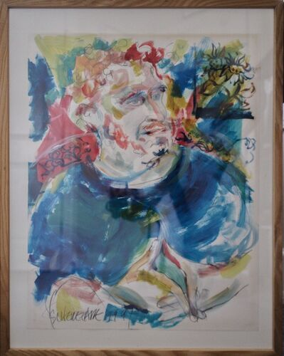 Scherezade García, 'Portrait of David Van Leer', 1997