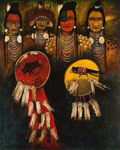 Kevin Red Star, 'Warriors of the Large Beaked Bird', 20th/21st Century