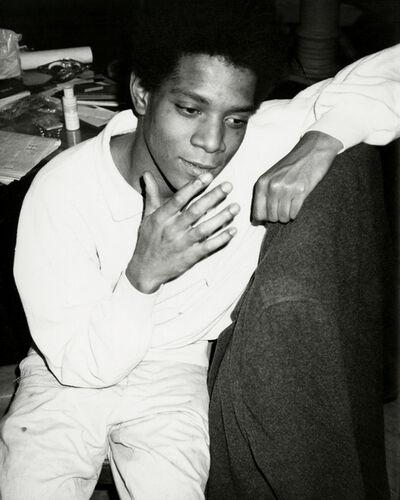 Andy Warhol, 'Andy Warhol, Photograph of Jean-Michel Basquiat circa 1984', ca. 1984