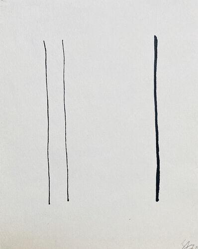 Vladimir Andreenkov, 'Vertical Lines', 1970