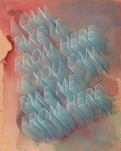 Ben Skinner, 'I Can Take It From Here If You Can Take Me From Here', 2017