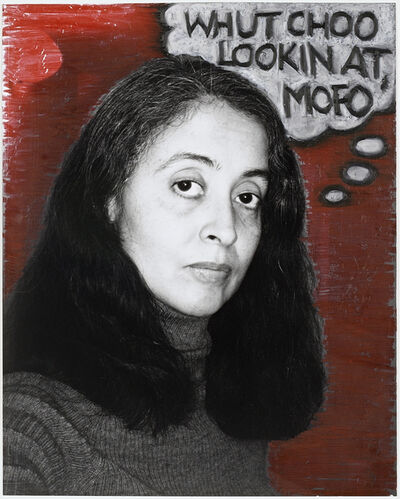 Adrian Piper, 'Self-Portrait as Nice White Lady', 1995