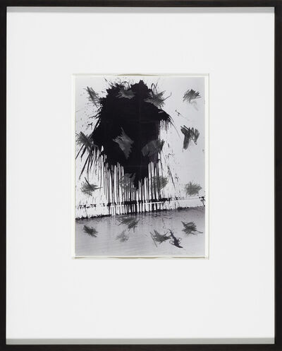 William Anastasi, 'Without Title (Pocket Drawing, One Gallon of Paint Thrown)', 2004