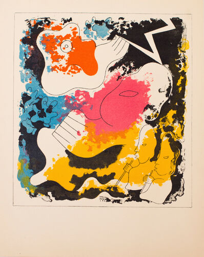 Carlos Merida, 'Estampas de Popol Vuh (Plate II)', 1943