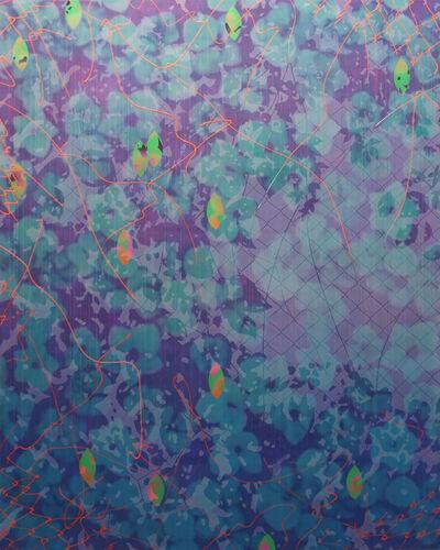 Hidenori Ishii, 'Nostalgia V (green/purple)', 2016