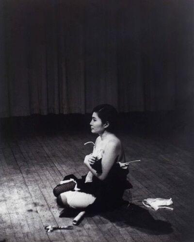 Yoko Ono, 'Cut Piece', 1964