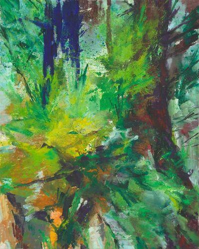 Bernd Zimmer, 'Blauer Baum II', 2014