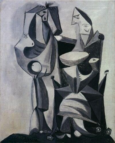 Pablo Picasso, 'Nu debout et femme assise', 1939