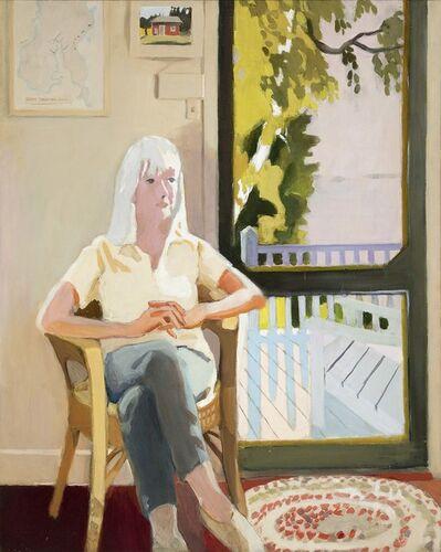 Fairfield Porter, 'Aline by the Screen Door', 1971