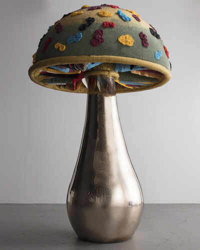 """The Haas Brothers, '""""Cream of Some Fungi"""" mushroom sculpture from the  Afreaks series', 2016"""