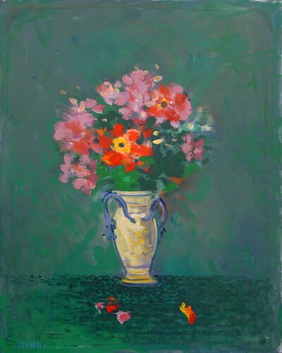 Paul Resika, 'Christmas Bouquet with Anemones #2', 2010-2011