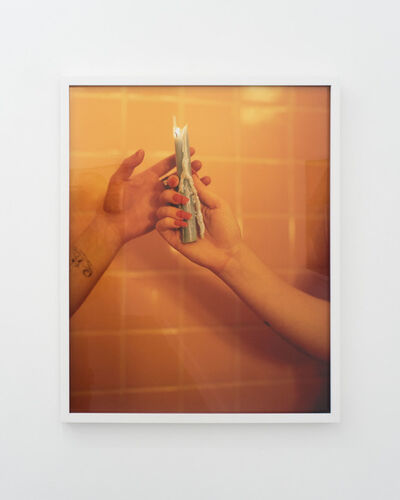 Yael Malka, 'Untitled (Two Candles)', 2017
