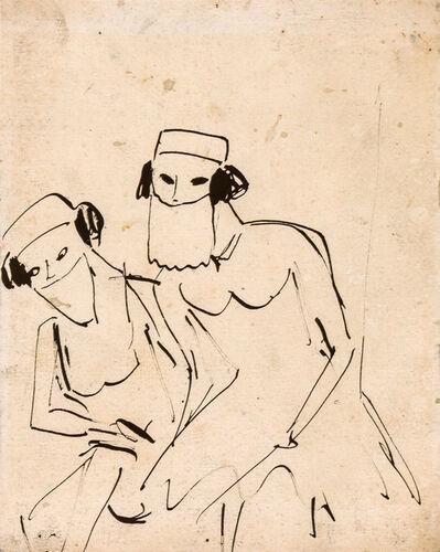 Ernst Ludwig Kirchner, 'Maskenball', ca. 1910