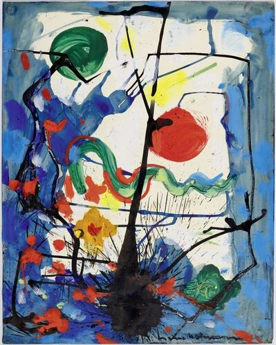 Hans Hofmann, 'The Tree', 1944