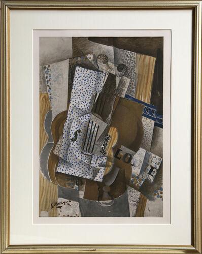 Georges Braque, 'Violin Melodie', ca. 1960