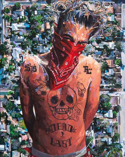 Michael Vasquez, 'Block Watch - Allan', 2017