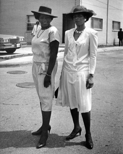 Earlie Hudnall, Jr., 'Two Sisters, Easter Sunday', 1983