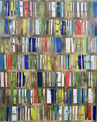 Petra Rös-Nickel, 'Happy Blue Green', 2020