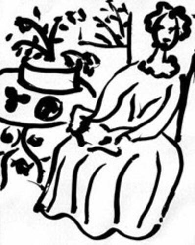 Henri Matisse, 'Marie-Jose en Robe Jaune', 1950
