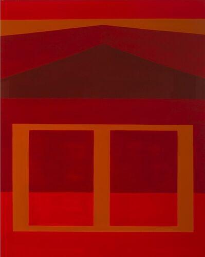 Felrath Hines, 'Western Landscape, AKA Red & Ochre ', 1979
