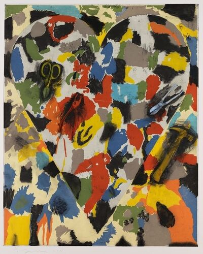 Jim Dine, 'Snips, Pliers and Hammers', 2011