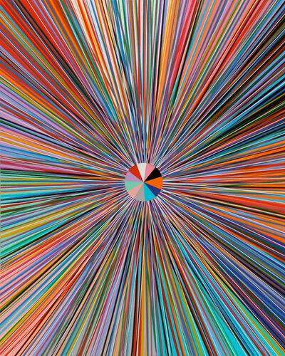 Bradley Harms, 'Radial Flare II Part', 2016