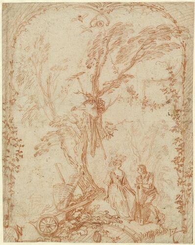 Jean-Antoine Watteau, 'The Gallant Gardener', ca. 1711-1712